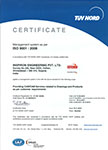 InspirOn Engineering Private Limited is TUV NORD certified ISO 9001:2008 an valid till 11/12/2015.